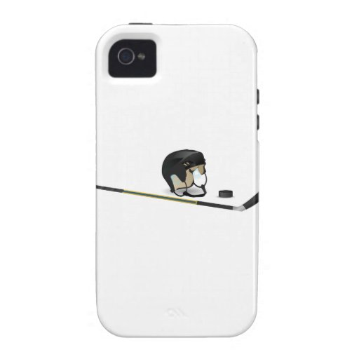 Hockey sobre hielo iPhone 4 carcasa