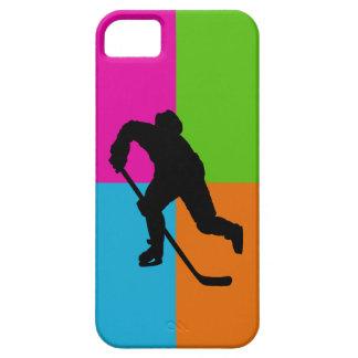 hockey sobre hielo iPhone 5 fundas