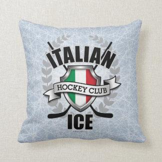 Hockey sobre hielo italiano almohadas