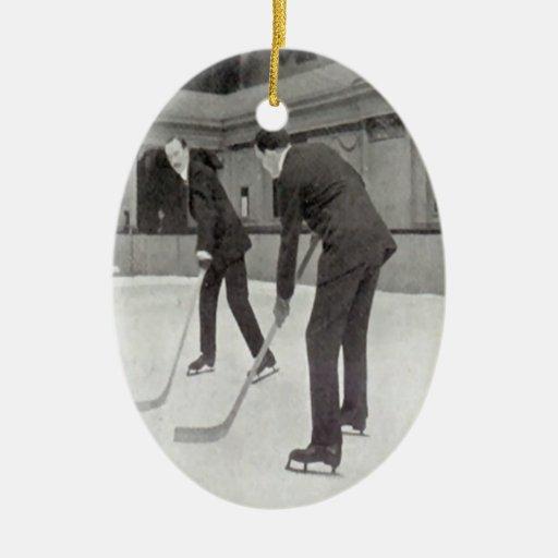 Hockey sobre hielo ornamentos de reyes magos