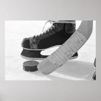 Hockey sobre hielo póster