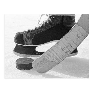 Hockey sobre hielo tarjetas postales