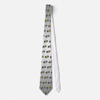 Hockey Star Puck Tie