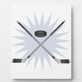 Hockey Stick Plaque