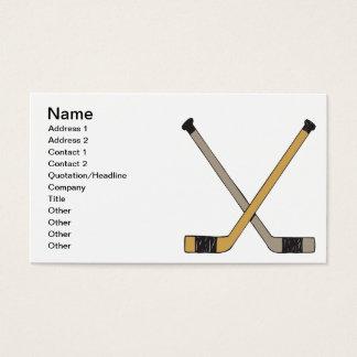 Hockey Sticks Business Card