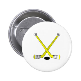 Hockey Sticks Pin