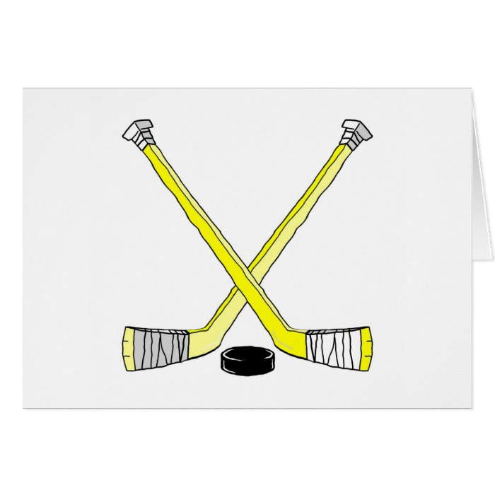 Hockey Sticks Card