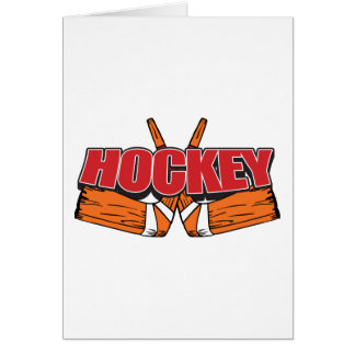 Hockey Sticks Card