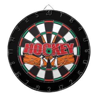 Hockey Sticks Dart Board