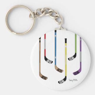 Hockey Sticks Keychain