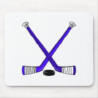 Hockey Sticks Mouse Pad
