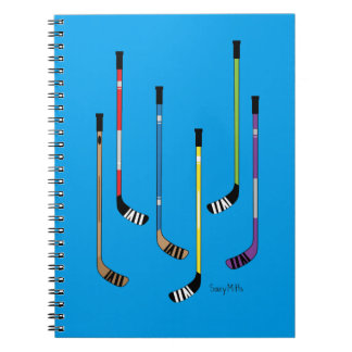 Hockey Sticks Notebook