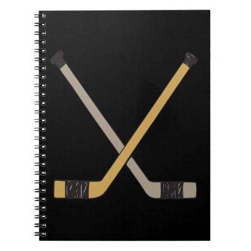 Hockey Sticks Note Books