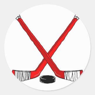 Hockey Sticks Stickers