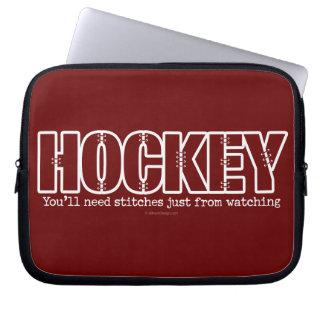 Hockey Stitches Laptop Sleeve