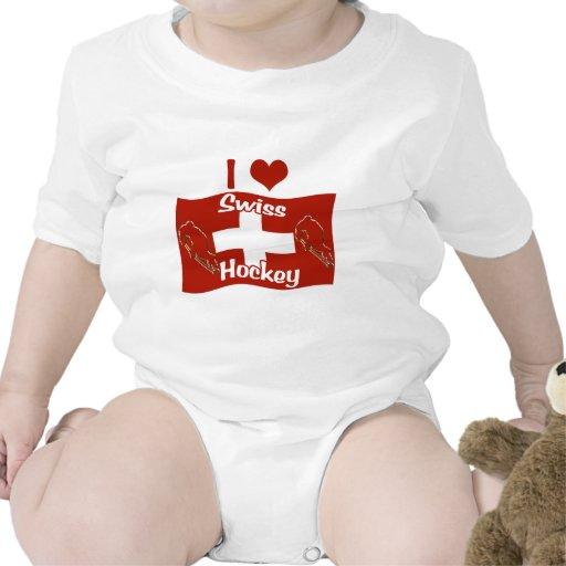 Hockey suizo traje de bebé