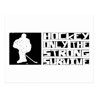 Hockey Survive Postcard