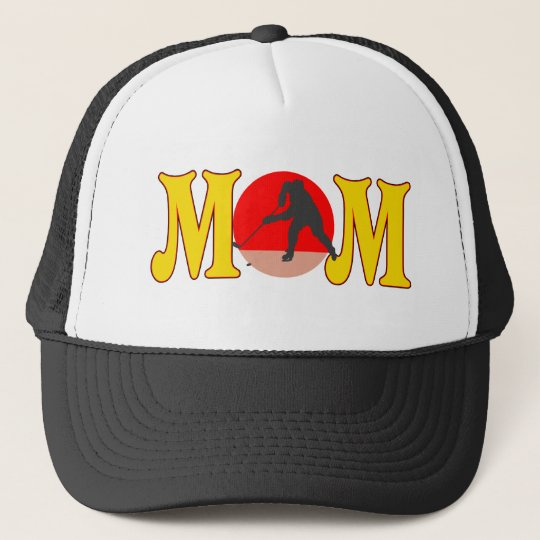 Hockey T-shirts and Gifts For Mom Trucker Hat