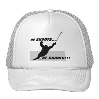 Hockey T-shirts and Gifts. Trucker Hat