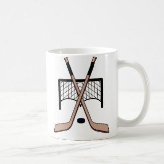 Hockey Taza Básica Blanca