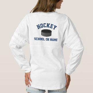 Hockey Team School Player's Name Custom Spirit Jersey