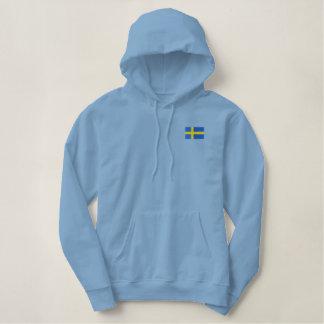 Hockey   Team SWEDEN Swedish Sports Embroidered Hoodie