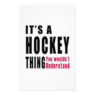 Hockey.Thing Designs Stationery