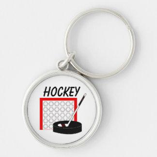 Hockey Time Keychain