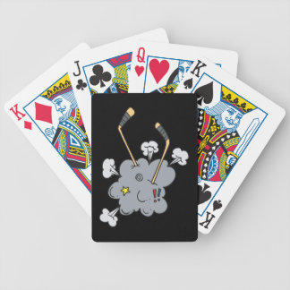 Hockey Time Bicycle Playing Cards