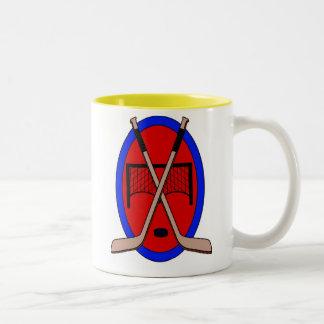 Hockey Two-Tone Coffee Mug