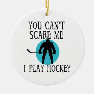 Hockey usted no puede asustarme las camisetas y lo adorno de reyes