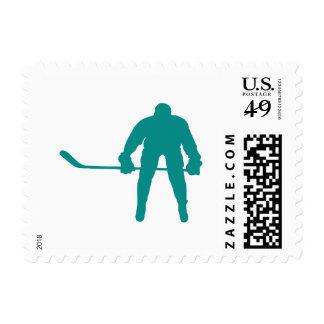 Hockey verde del trullo franqueo