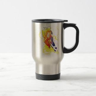Hockey Watercolor Mugs