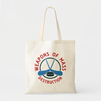 Hockey Weapons of Mass Destruction Tote Bag