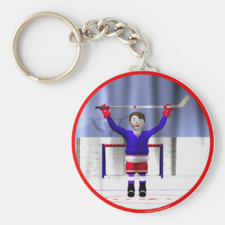 Hockey Winner Key Chains