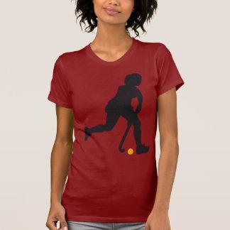 Hockey Woman T Shirts