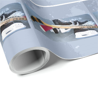 Hockey Wrapping Paper
