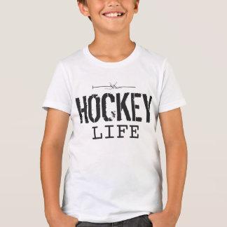 hockey y vida puestos junta playera