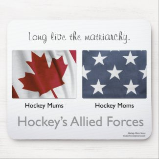 Hockey's Allied Forces items Mouse Pad