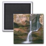 Hocking Hills 2 Inch Square Magnet