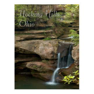 Hocking Hills Ohio Postcard