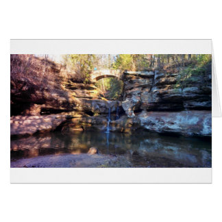 Hocking Hills - Waterfall Card