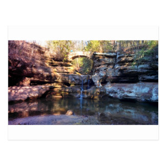 Hocking Hills - Waterfall Postcard