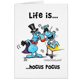 Hocus Pocus Card