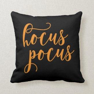 Hocus Pocus Halloween Throw Pillow