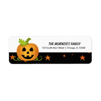 Hocus Pocus Pumpkin Label