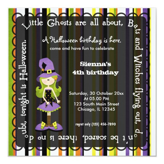 Hocus pocus witch birthday black invitation zazzle hocus pocus witch birthday black invitation filmwisefo