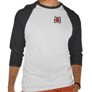 """HOD Crest"" Diamond cut t-shirt - MLQ+Karib WLD"