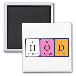 HoD periodic table word magnet