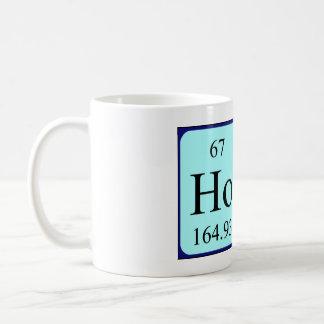 HoD periodic table word mug